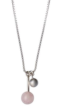 Pilgrim-Pink-ball-drop-necklace_151716701-Silver_0