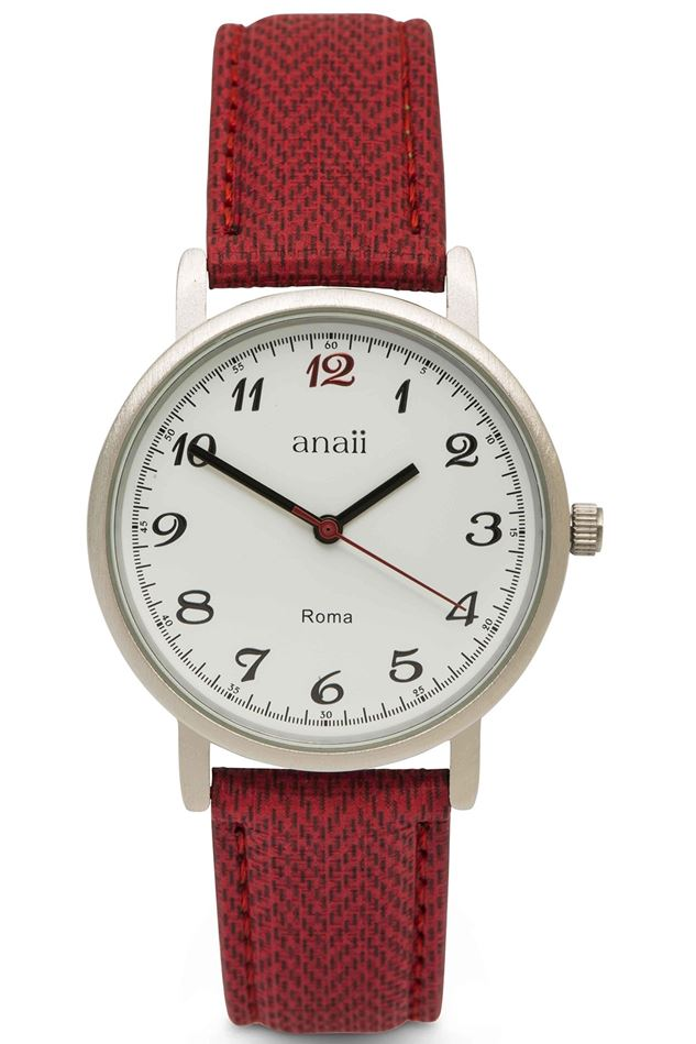 Picture of Anaii Roma Watch in red