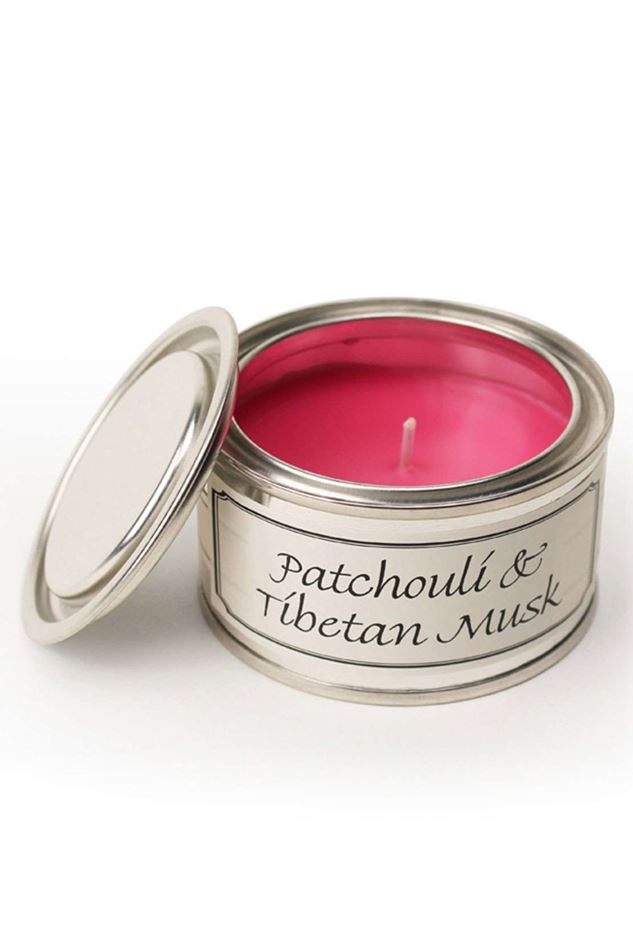 Picture of Pintail Patchouli  & Tibetan Musk Paint Pot Candle
