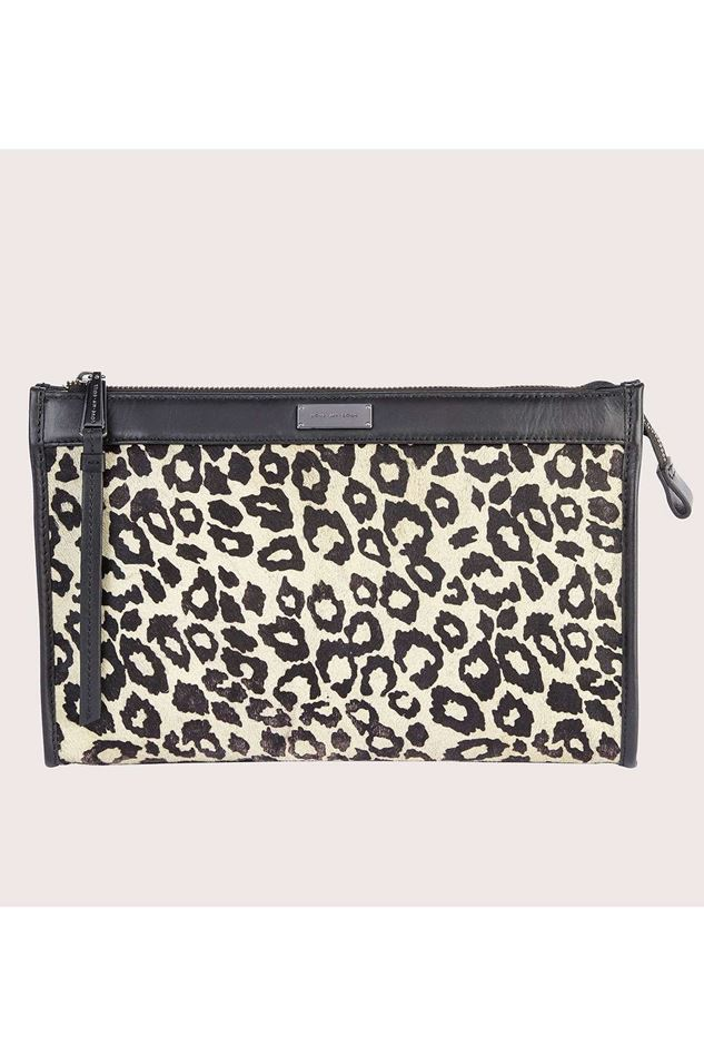 Picture of Love My Soul Carter Clutch Sage Leopard