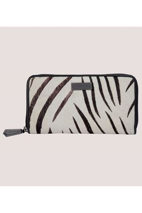 Picture of Love My Soul Sienna Large Zip Around Zebra