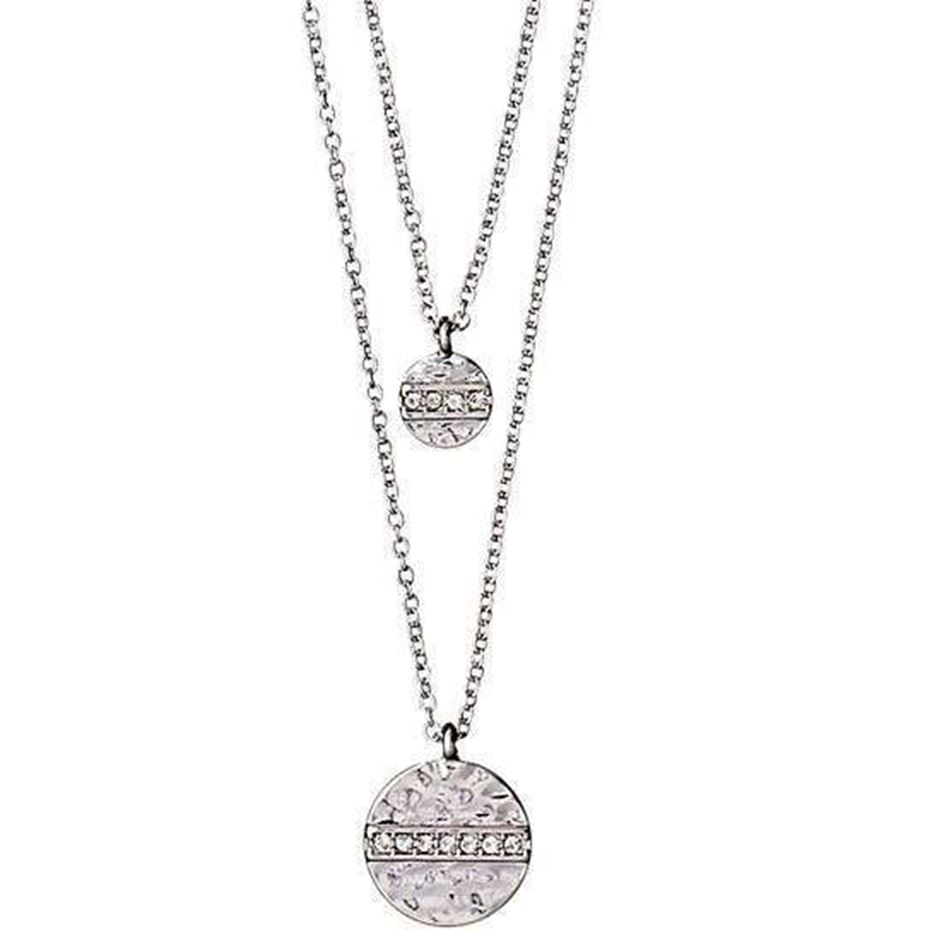 Picture of Pilgrim Grace Silver Crystal Necklace