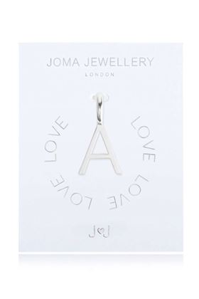 Picture of Joma Jewellery Alphabet Charm - A