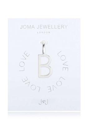 Picture of Joma Jewellery Alphabet Charm - B