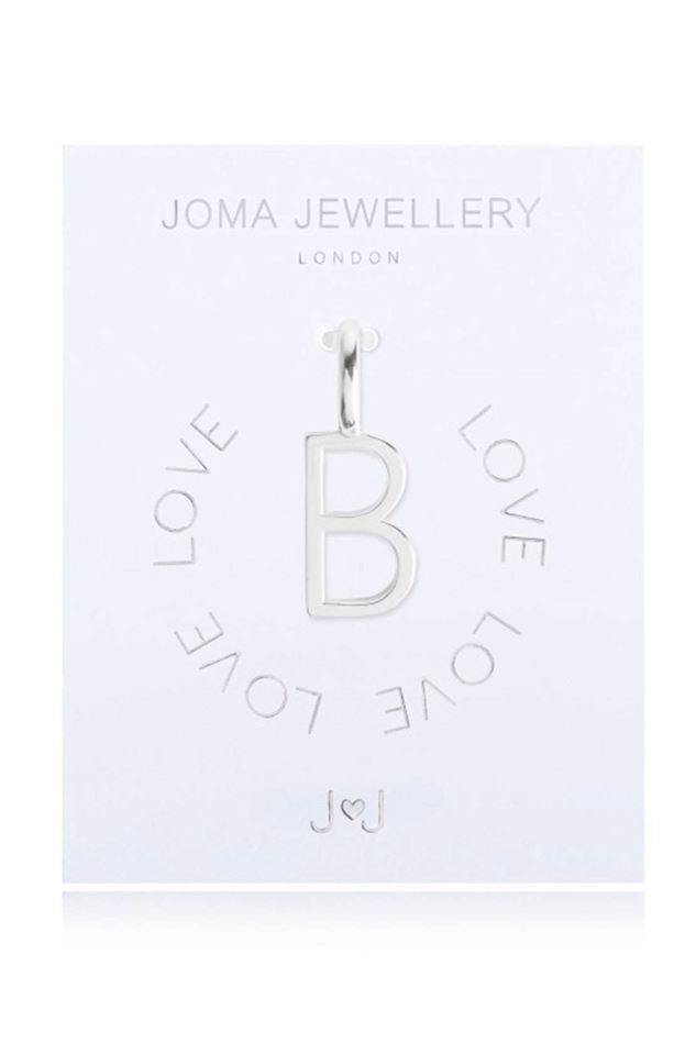 Picture of Joma Jewellery Alphabet Charm - B