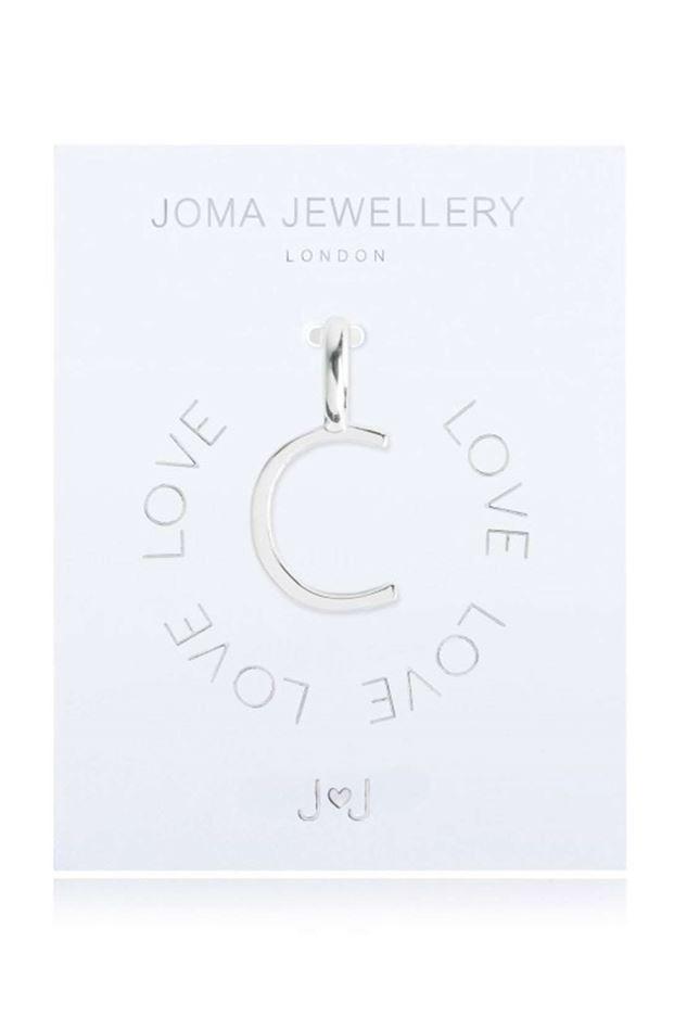 Picture of Joma Jewellery Alphabet Charm - C