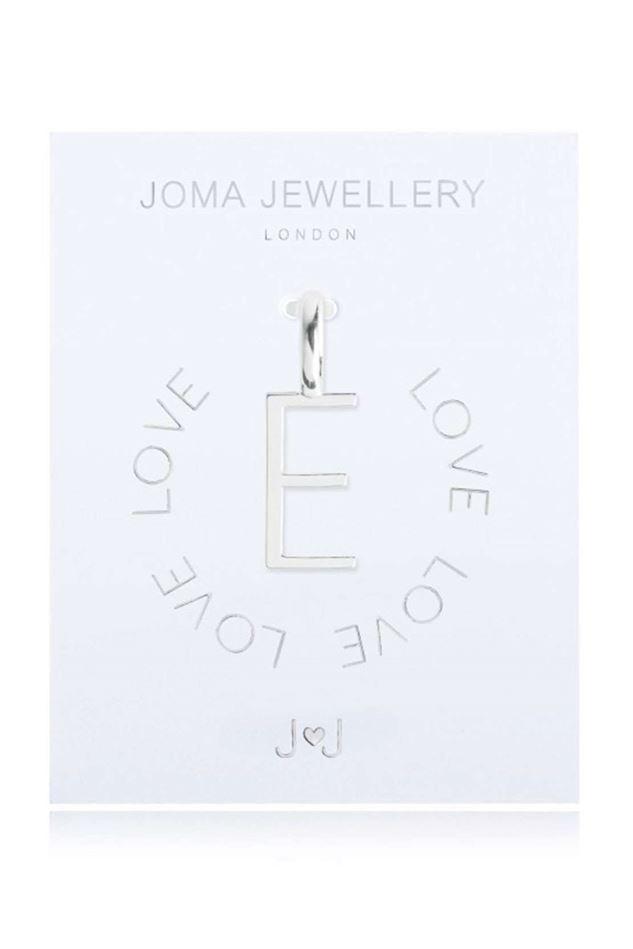 Picture of Joma Jewellery Alphabet Charm - E