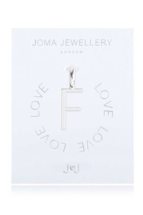 Picture of Joma Jewellery Alphabet Charm - F
