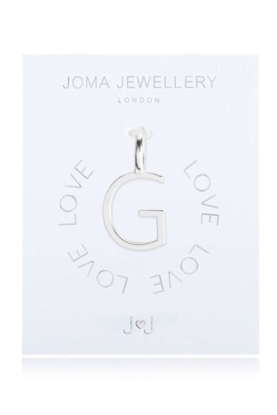 Picture of Joma Jewellery Alphabet Charm - G
