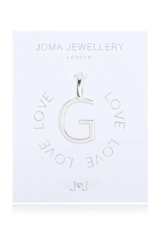 Picture of Joma Jewellery Alphabet Charm - G