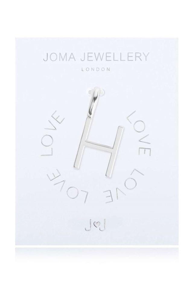 Picture of Joma Jewellery Alphabet Charm - H
