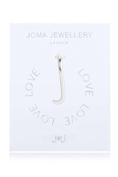 Picture of Joma Jewellery Alphabet Charm - J
