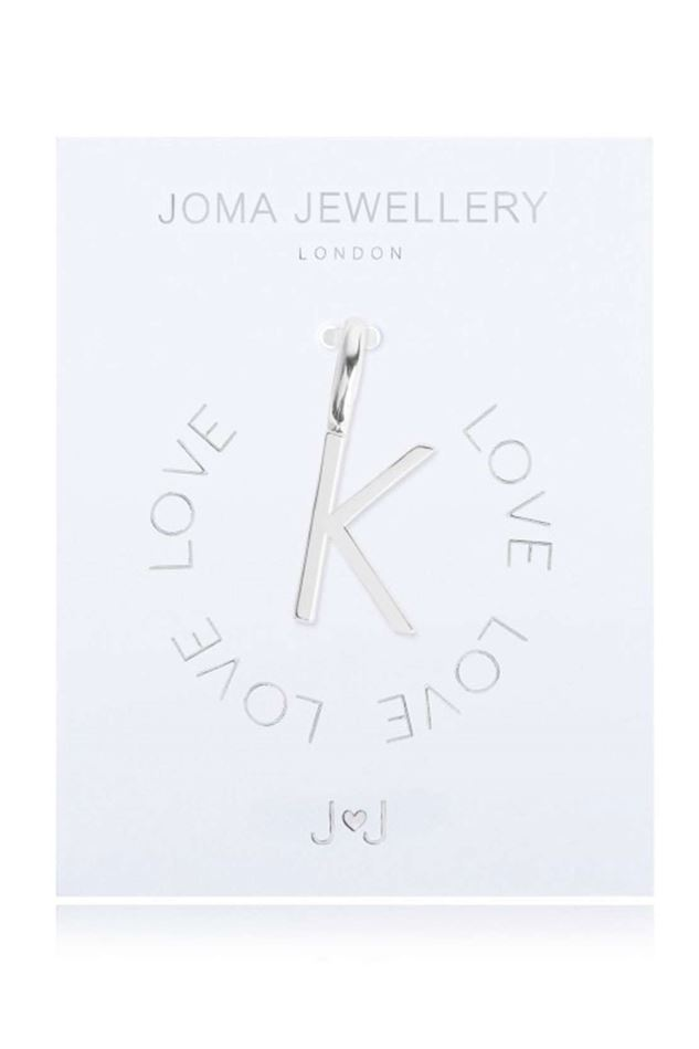 Picture of Joma Jewellery Alphabet Charm - K