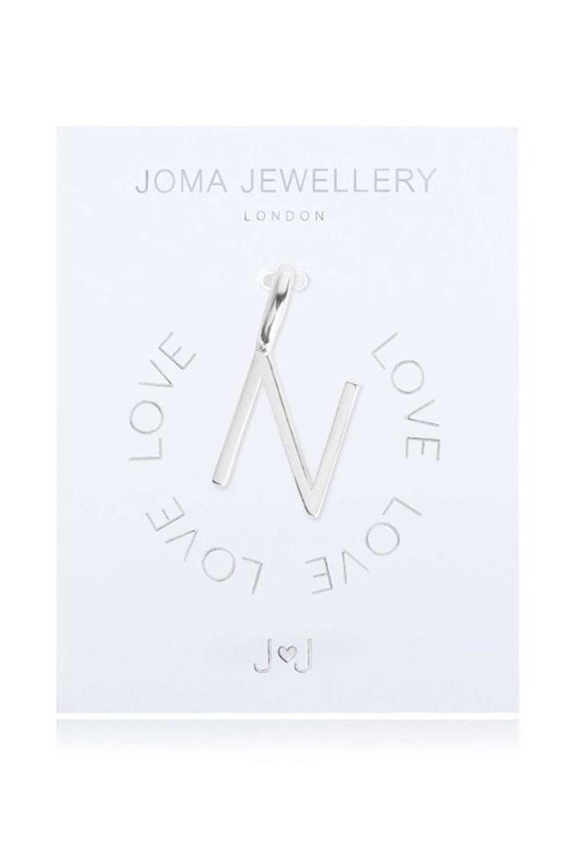 Picture of Joma Jewellery Alphabet Charm - N