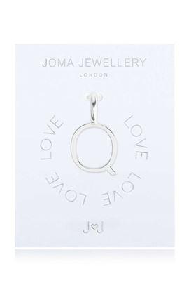 Picture of Joma Jewellery Alphabet Charm - Q