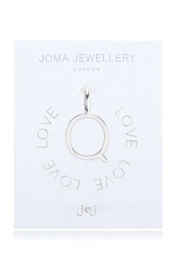 Picture of Joma Jewellery Alphabet Charm - Q