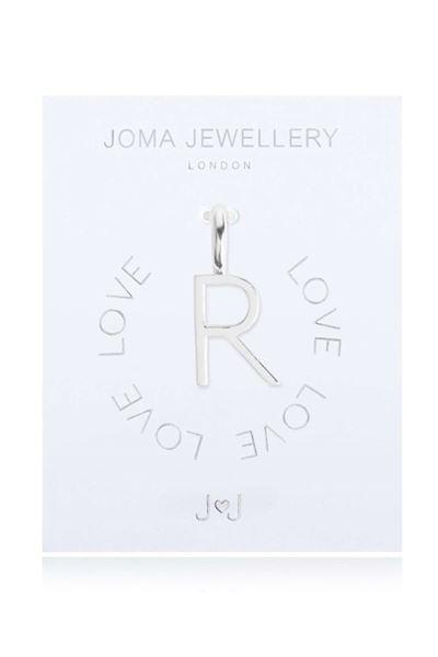 Picture of Joma Jewellery Alphabet Charm - R