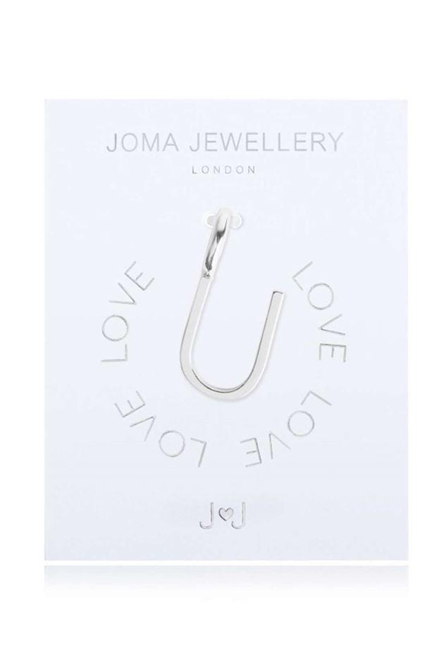 Picture of Joma Jewellery Alphabet Charm - U