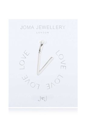 Picture of Joma Jewellery Alphabet Charm - V