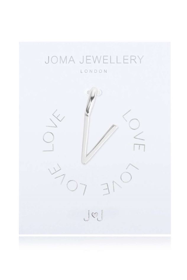 Picture of Joma Jewellery Alphabet Charm - V