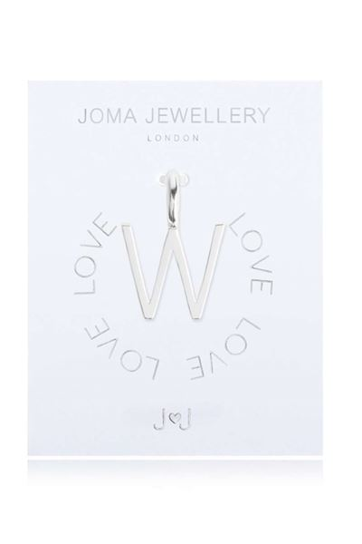 Picture of Joma Jewellery Alphabet Charm - W