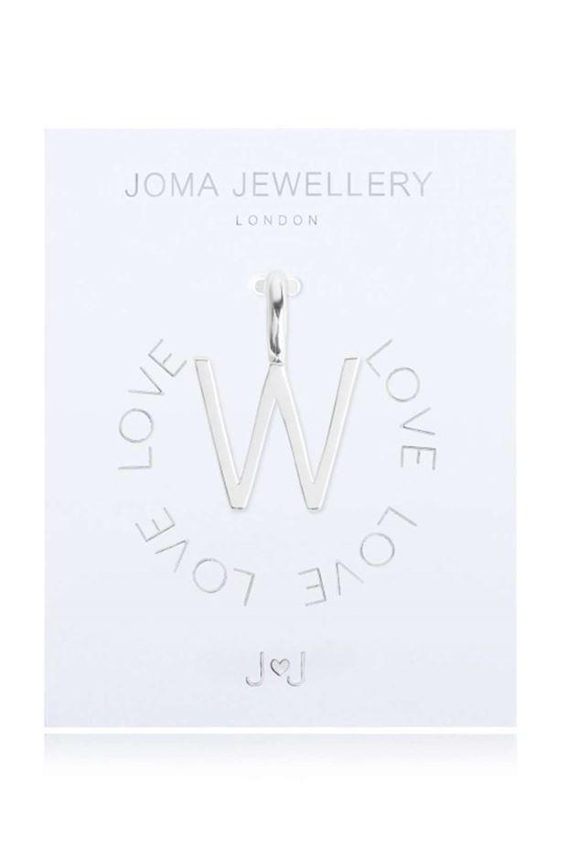 Picture of Joma Jewellery Alphabet Charm - W