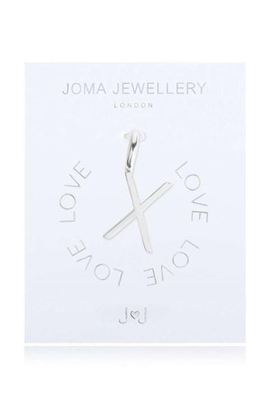 Picture of Joma Jewellery Alphabet Charm - X