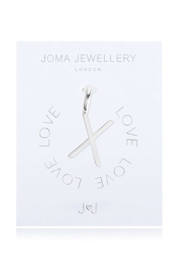 Picture of Joma Jewellery Alphabet Charm - X