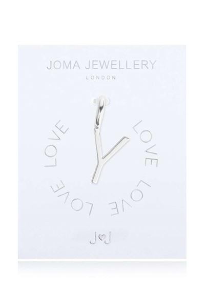 Picture of Joma Jewellery Alphabet Charm - Y