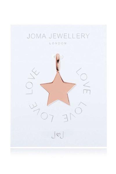 Picture of Joma Jewellery Alphabet Charm - Flat Star