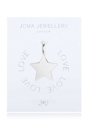 Picture of Joma Jewellery Alphabet Charm - Flat Star