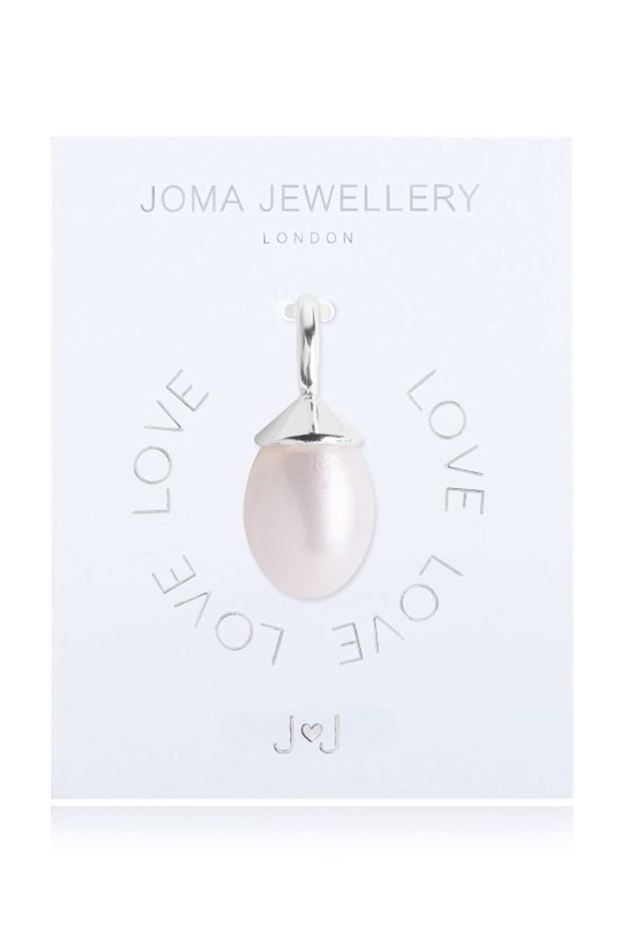 Picture of Joma Jewellery Alphabet Charm - Pearl