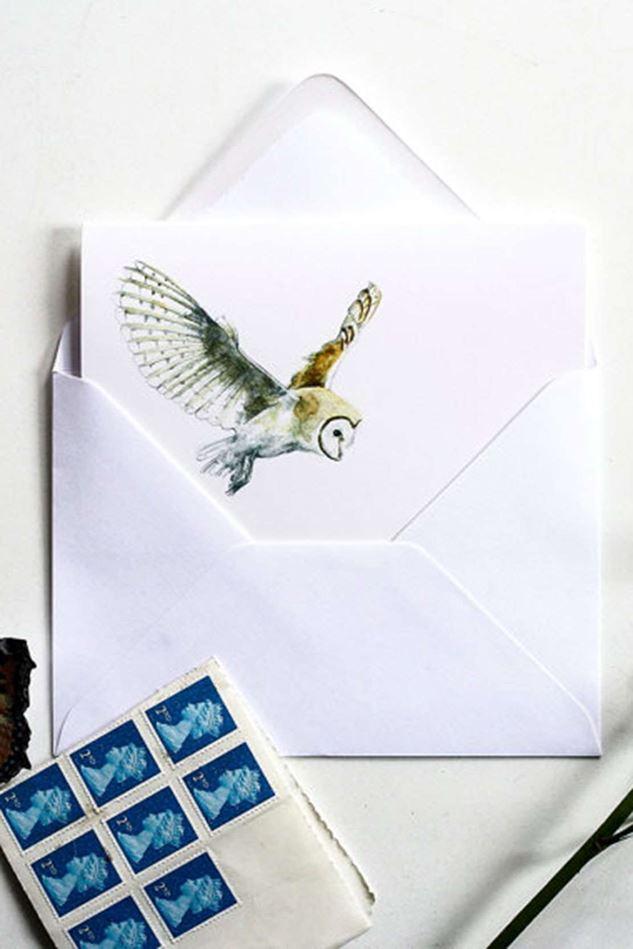 Picture of Hannah Longmuir Card - Barn Owl
