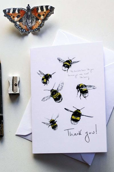 Picture of Hannah Longmuir Card - Thank you! Sweet as Honey