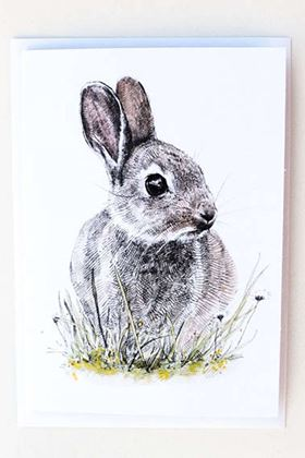 Picture of Hannah Longmuir Card - Charlie Bunny