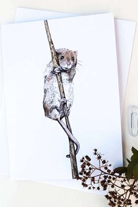 Picture of Hannah Longmuir Card - Eilidh Harvest Mouse