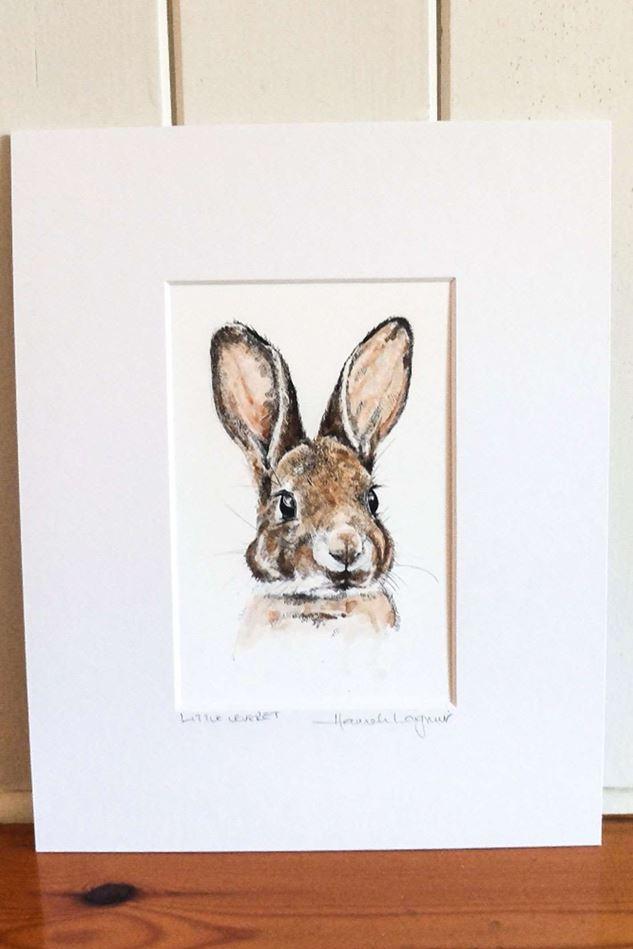 Picture of Hannah Longmuir Print - Little Leveret