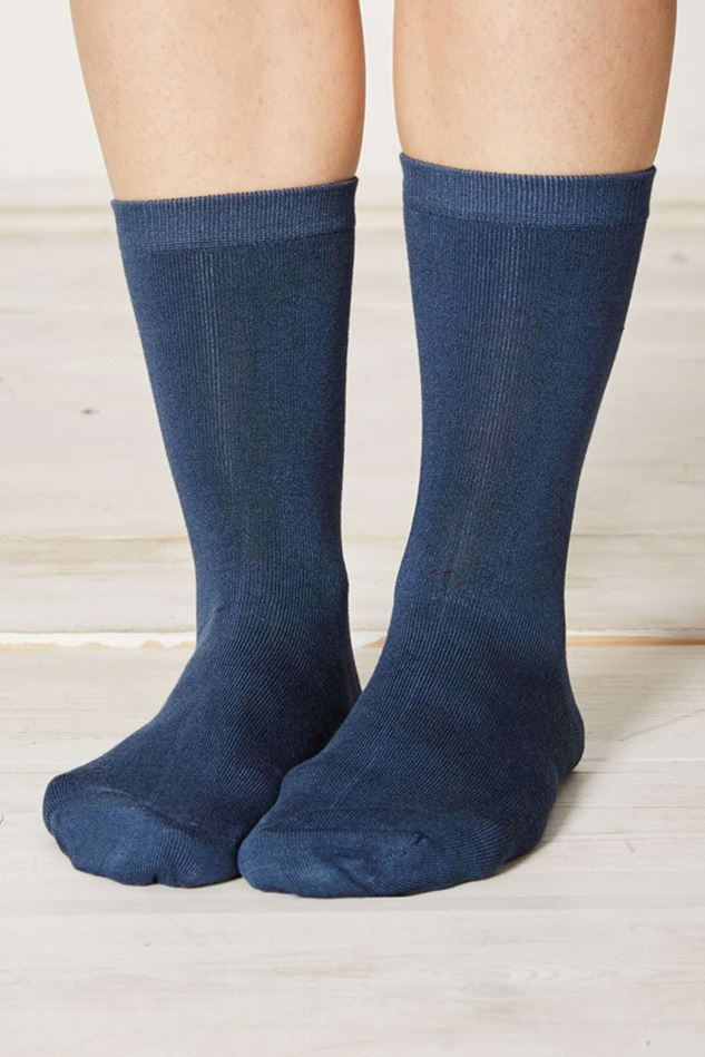 Picture of Thought Solid Jackie Plain Bamboo Socks