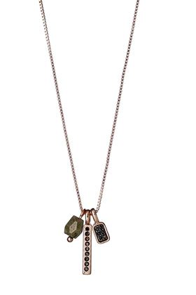 Picture of Pilgrim Glenna Rose Gold Plated Neckace