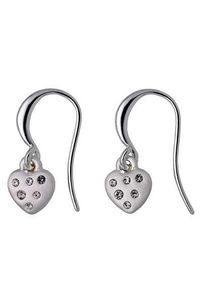 Picture of Pilgrim Hannah Silver Plated Heart Earrings