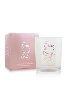 Picture of Katie Loxton  'Live Laugh Love' Jar Candle