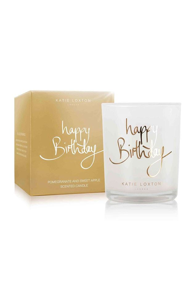 Picture of Katie Loxton  'Happy Birthday' Jar Candle
