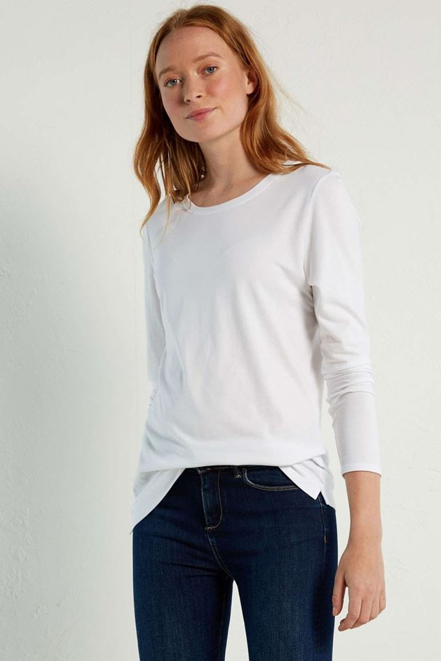 Picture of White Stuff LS Brushed Layer Jersey Tee