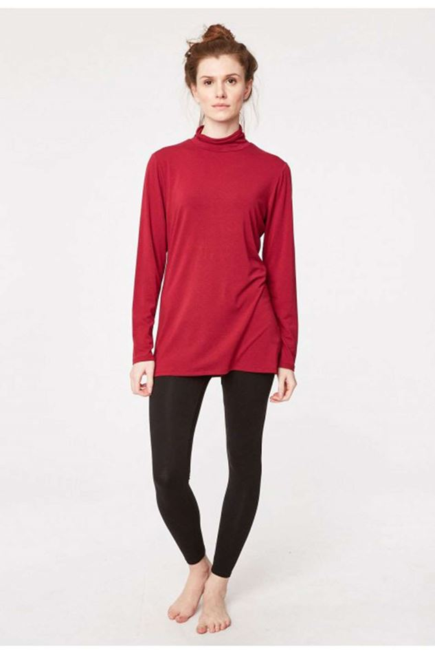 Picture of Thought Bamboo Base Layer Roll Neck