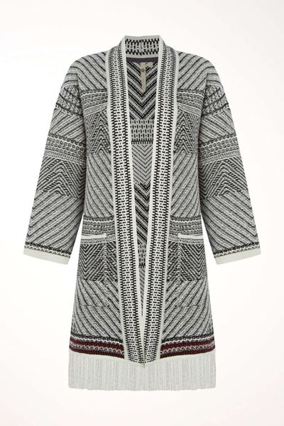 Picture of White Stuff Tribe Pattern Cardi