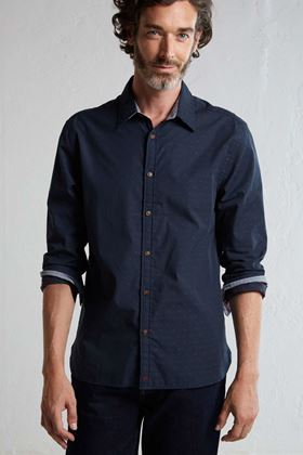 Picture of White Stuff Men's Canal Dobby LS Shirt