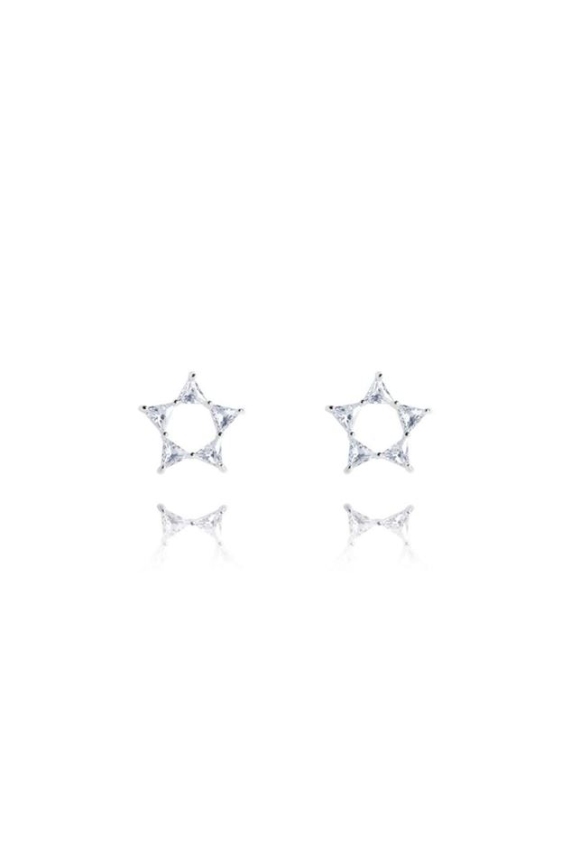 Picture of Joma Jewellery Celestia Triangle Star Earrings