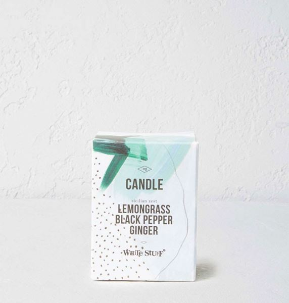 Picture of White Stuff Lemongrass & Ginger Small Candle