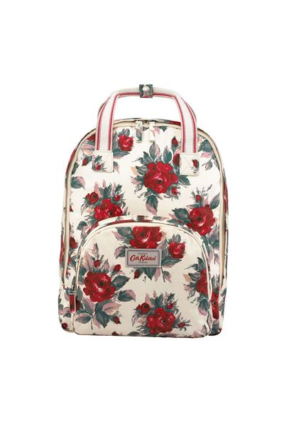 Picture of Cath Kidston Small Devonshire Rose Multi Pocket Backpack