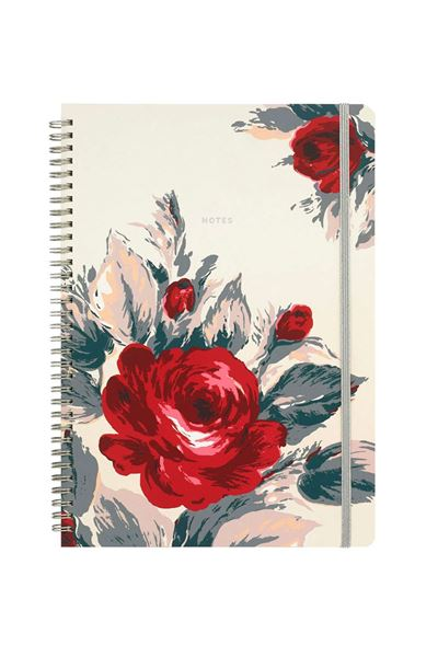 Picture of Cath Kidston Devonshire Rose A4 Spiral Bound Notebook